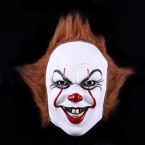 verkoop - attributen - Halloween - Masker clown