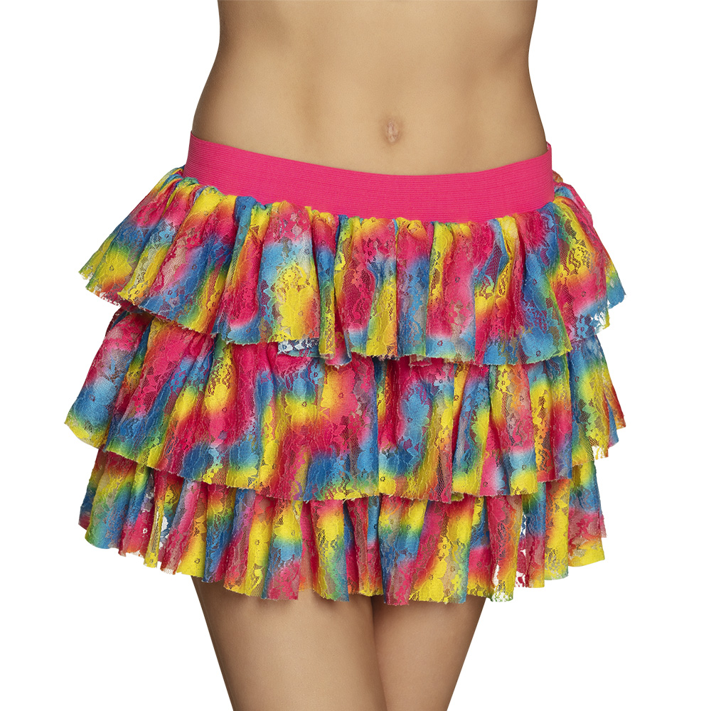 verkoop - attributen - Kamping Kitsch-Bal Marginal - Rok kant multicolor