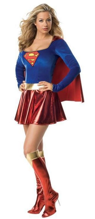 verhuur - carnaval - Superhelden - Superwoman