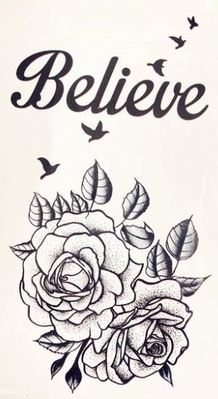 verkoop - attributen - Tattoo - Tattoo Believe