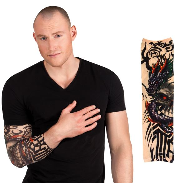 verkoop - attributen - Tattoo - Tattoosleeve skull