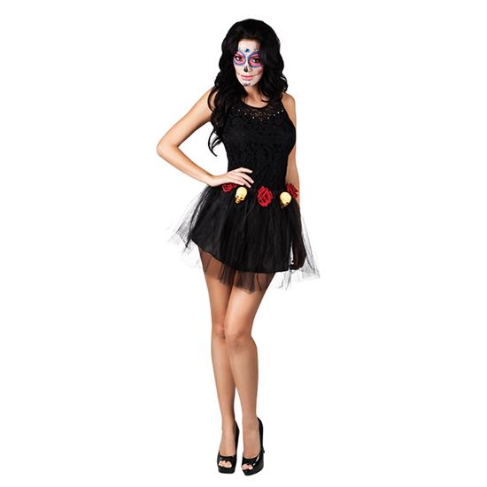 verkoop - attributen - Halloween - Tutu day of the dead