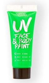 verkoop - attributen - Make-up - UV body and face paint tube groen