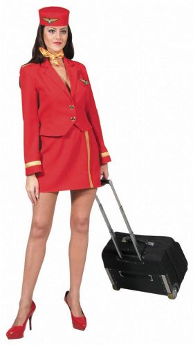 airhostess rood -
