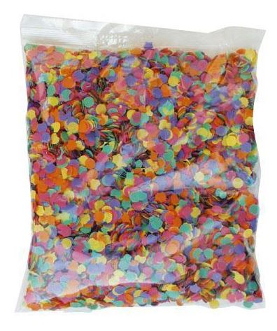 verkoop - attributen - Confetti & serpentine - Confetti multi 100 gr