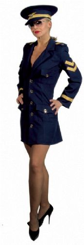 verhuur - carnaval - Uniform - marinedame officiere navy