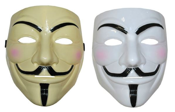 verkoop - attributen - Halloween - Masker V for Vendetta