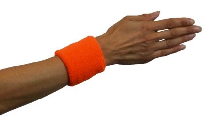 verkoop - attributen - Kamping Kitch & Bal Marginal - Polsband fluooranje