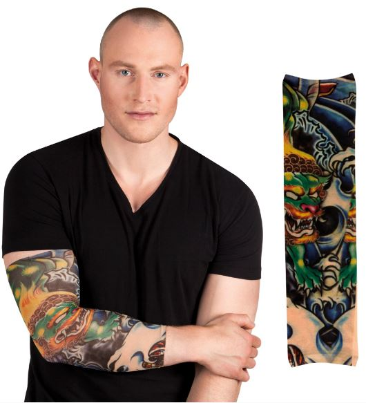 verkoop - attributen - Hebbedingetjes - Tattoosleeve dragon